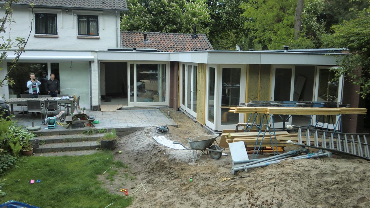 Uitbreiding van woonhuis waalre studio412 - Bureau van de uitbreiding ...